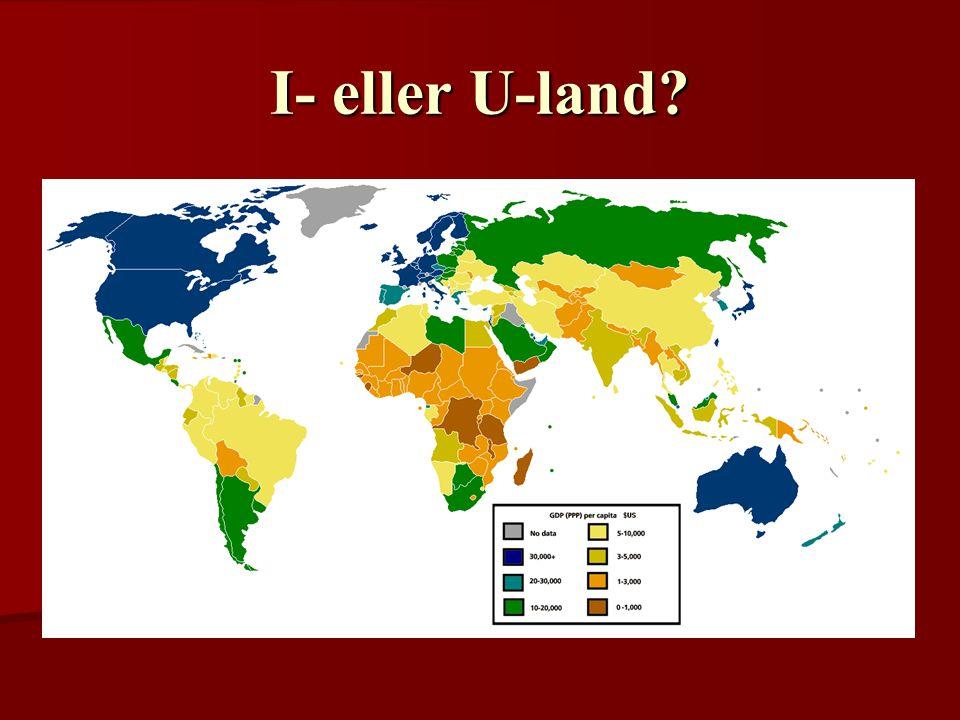 I- eller U-land