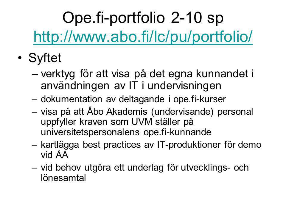 Ope.fi-portfolio 2-10 sp http://www.abo.fi/lc/pu/portfolio/