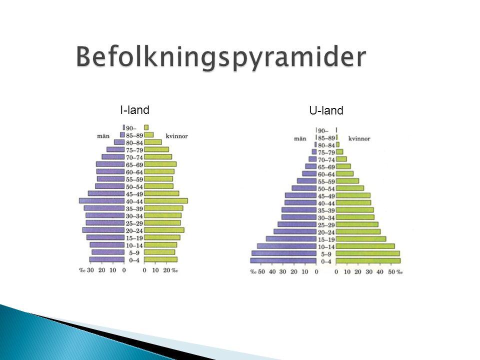 Befolkningspyramider