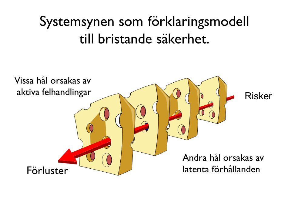 Systemsynen som förklaringsmodell till bristande säkerhet.