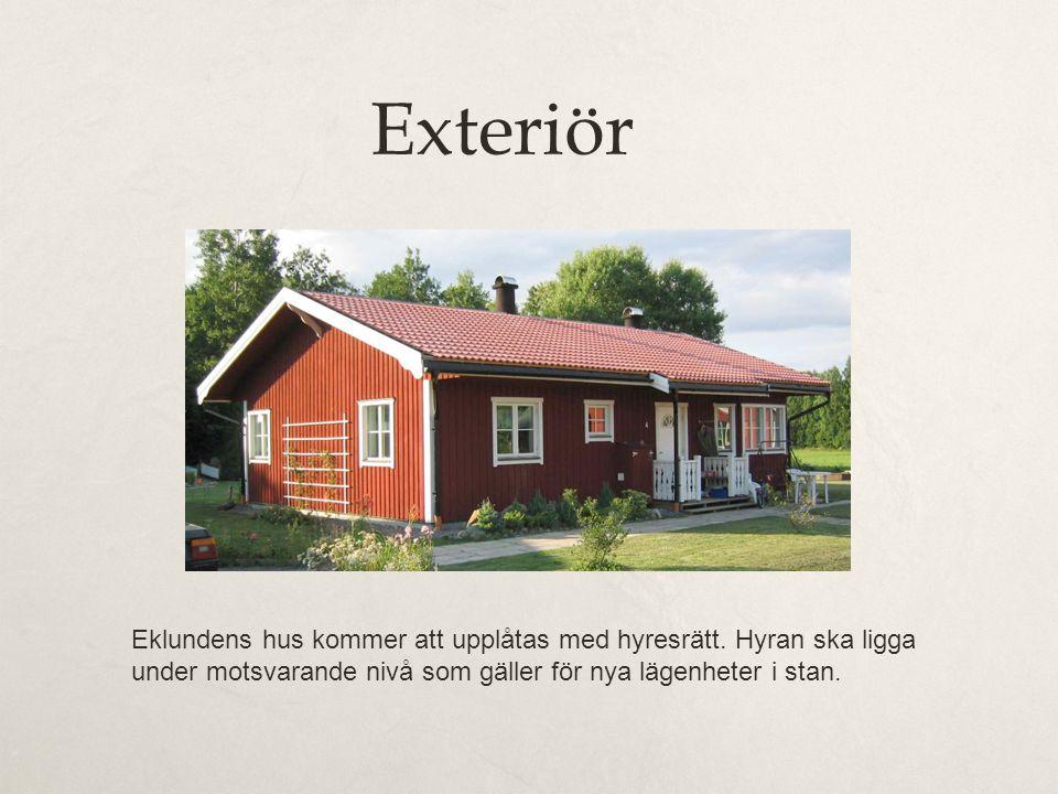 Exteriör Eklundens hus kommer att upplåtas med hyresrätt. Hyran ska ligga under motsvarande nivå som gäller för nya lägenheter i stan.