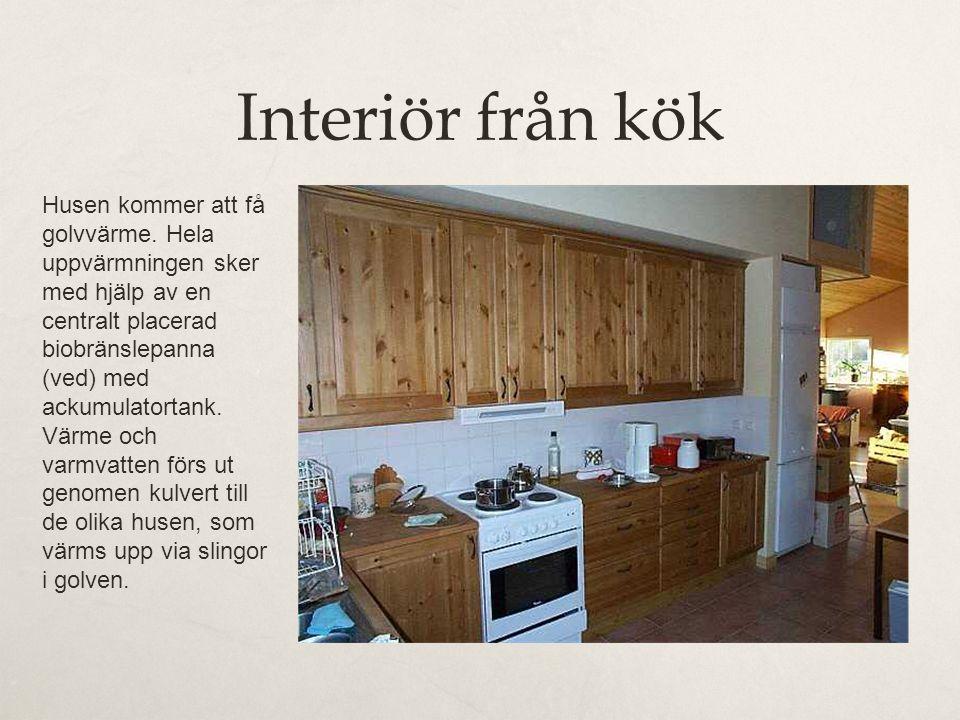 Interiör från kök