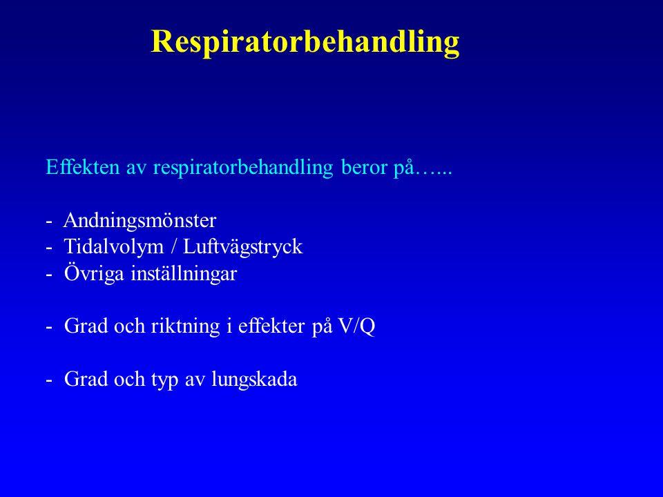 Respiratorbehandling