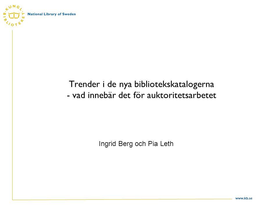 Ingrid Berg och Pia Leth