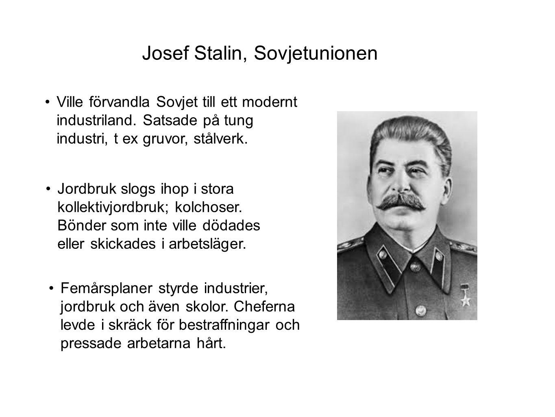 Josef Stalin, Sovjetunionen