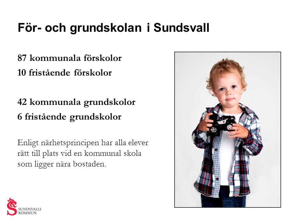 För- och grundskolan i Sundsvall