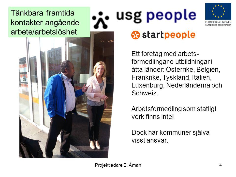Tänkbara framtida kontakter angående arbete/arbetslöshet