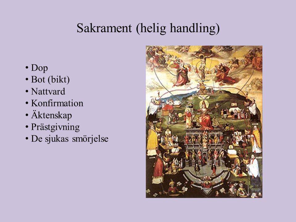 Sakrament (helig handling)
