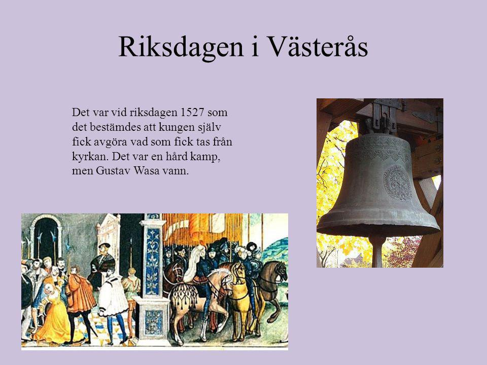 Riksdagen i Västerås