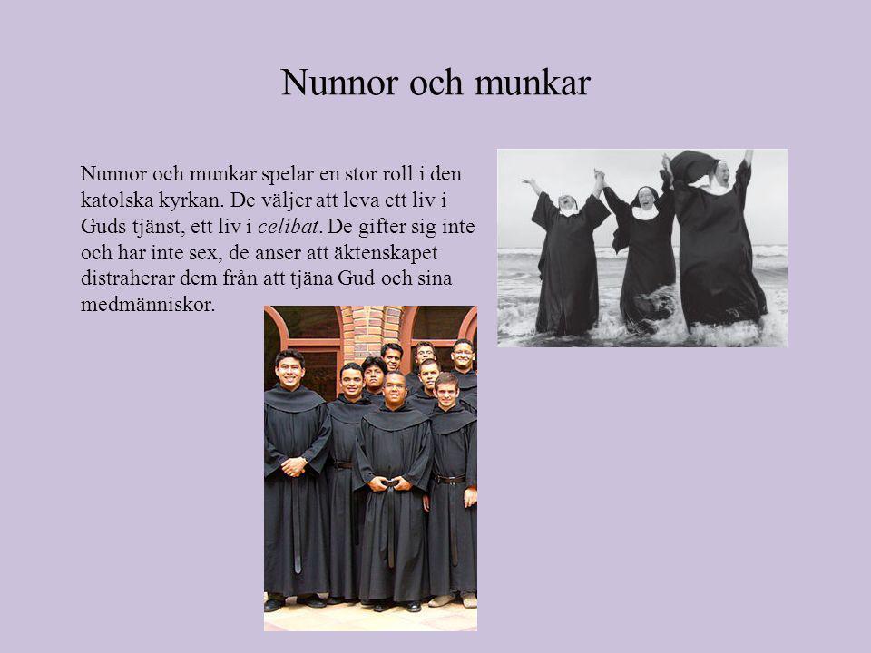 Nunnor och munkar