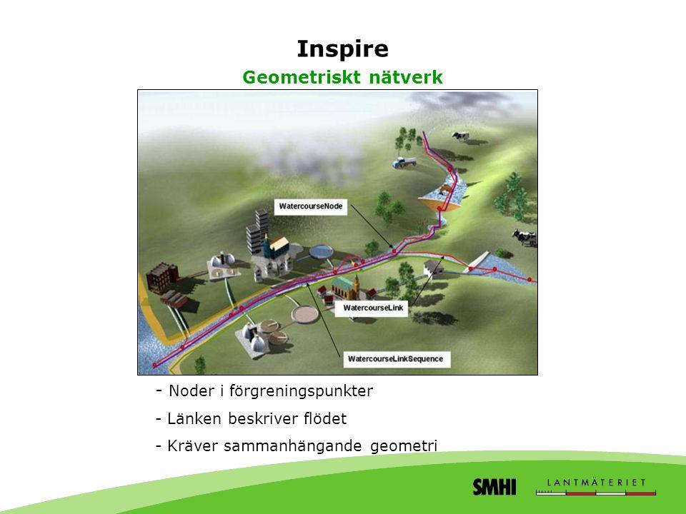 Inspire Geometriskt nätverk