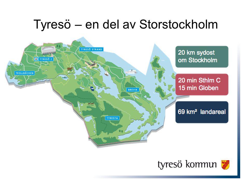 Tyresö – en del av Storstockholm