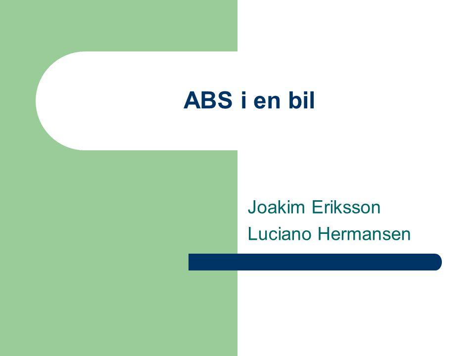 Joakim Eriksson Luciano Hermansen