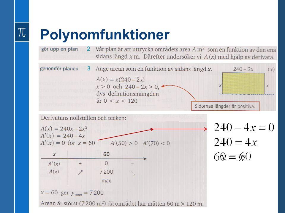 Polynomfunktioner