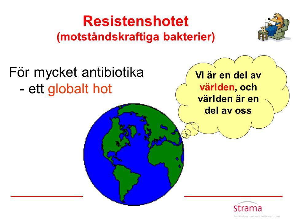 Resistenshotet (motståndskraftiga bakterier)