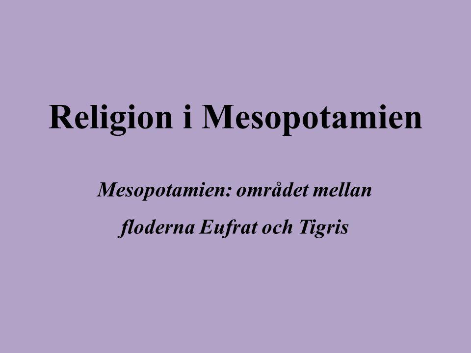 Religion i Mesopotamien