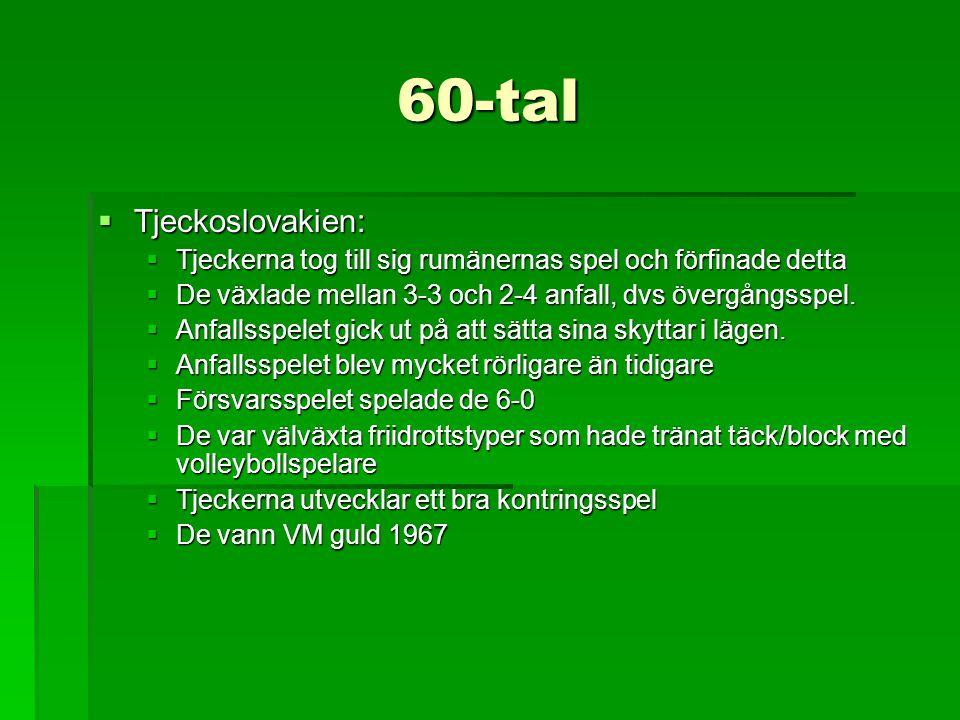 60-tal Tjeckoslovakien: