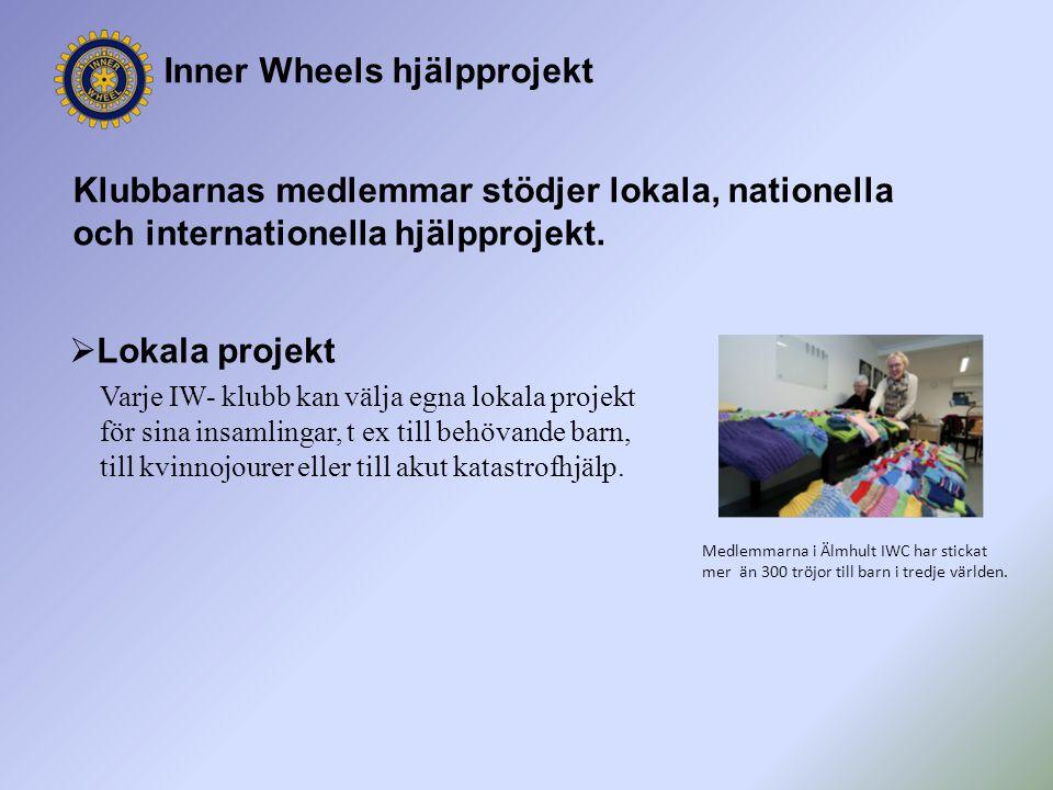 Inner Wheels hjälpprojekt