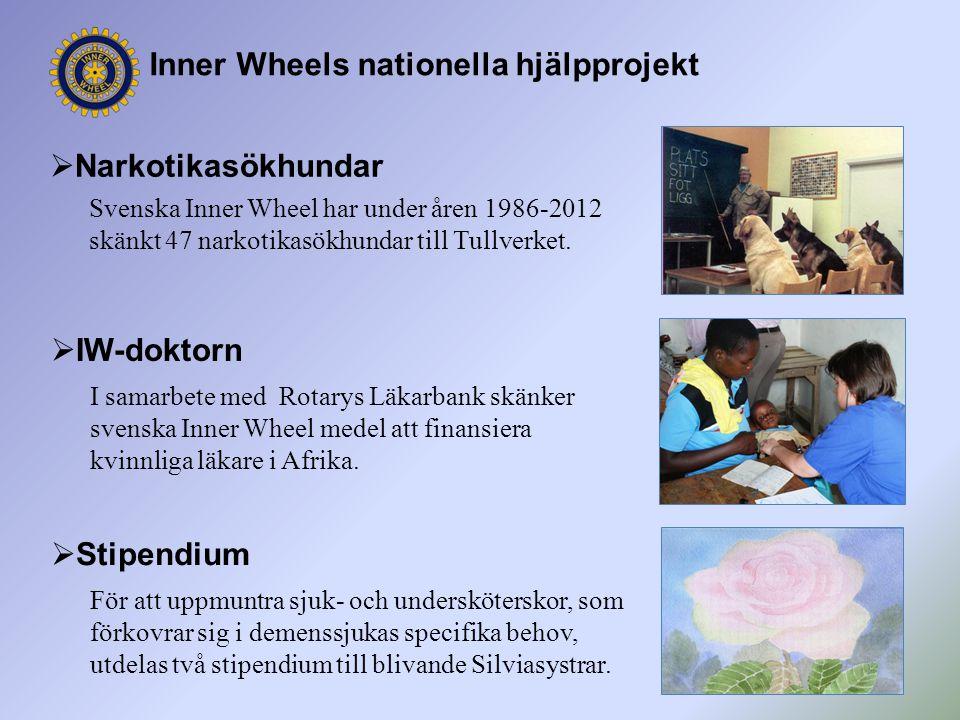 Inner Wheels nationella hjälpprojekt