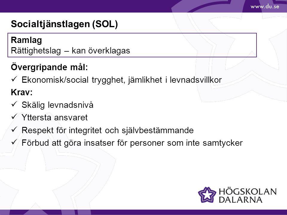 Socialtjänstlagen (SOL)