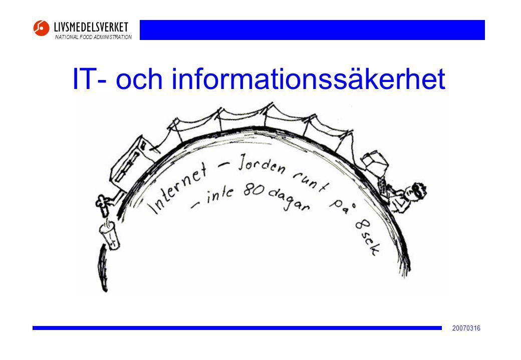 IT- och informationssäkerhet