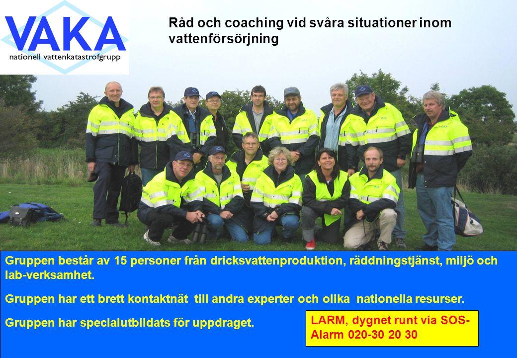 Råd och coaching vid svåra situationer inom vattenförsörjning