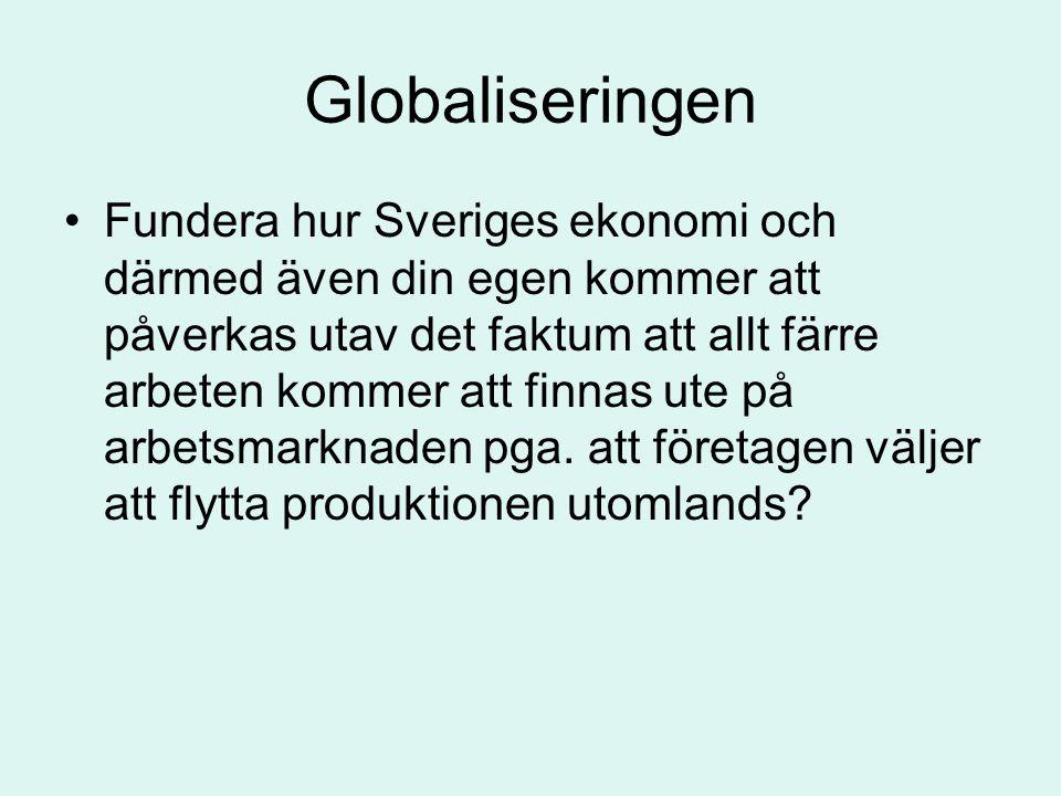 Globaliseringen