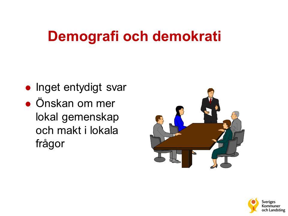 Demografi och demokrati