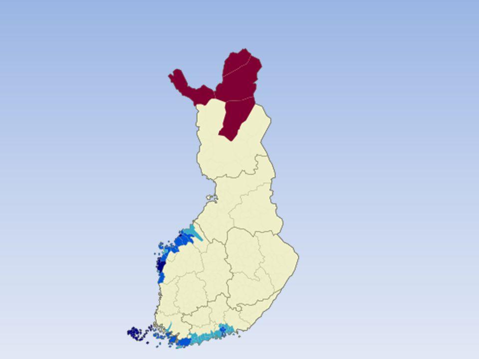 År 2007 folkbokföring: 265 000 angav svenska som modersmål