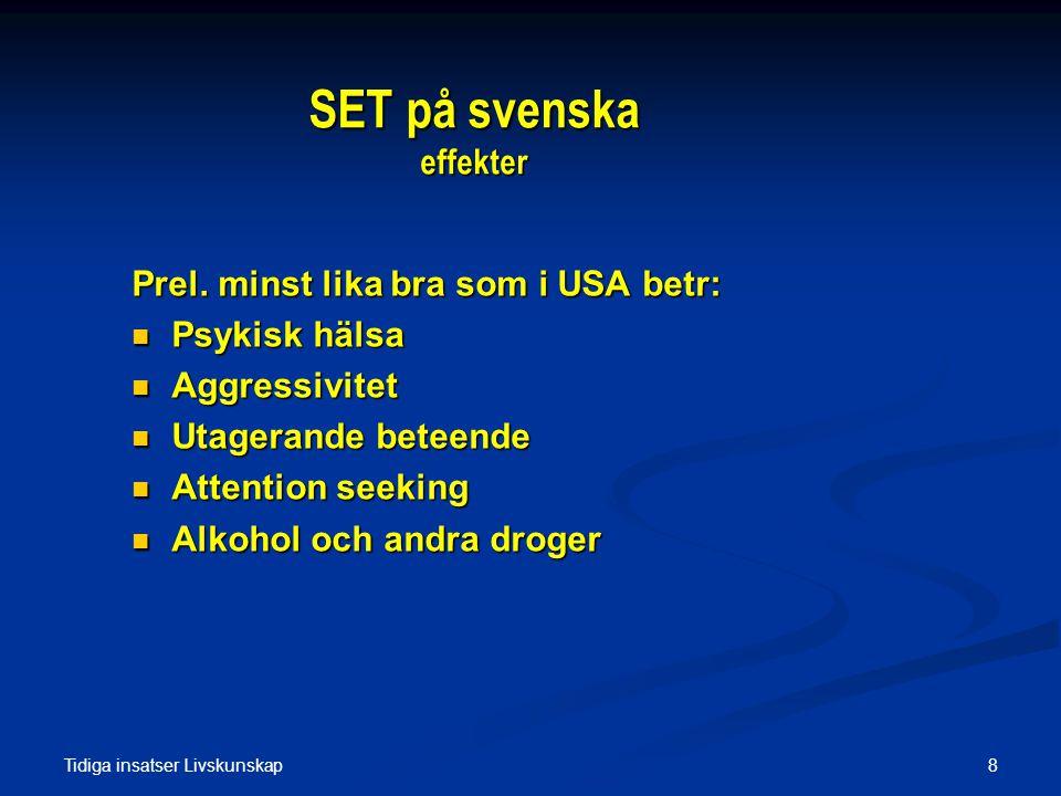 SET på svenska effekter