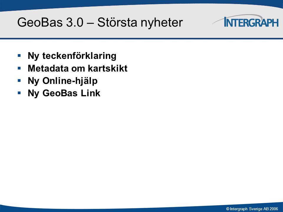 GeoBas 3.0 – Största nyheter