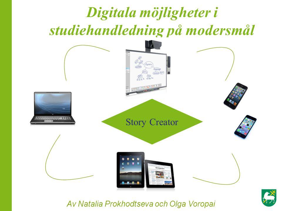 Digitala möjligheter i studiehandledning på modersmål