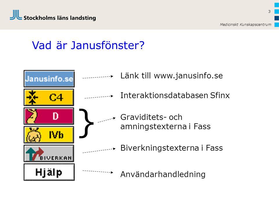 } Vad är Janusfönster Länk till www.janusinfo.se