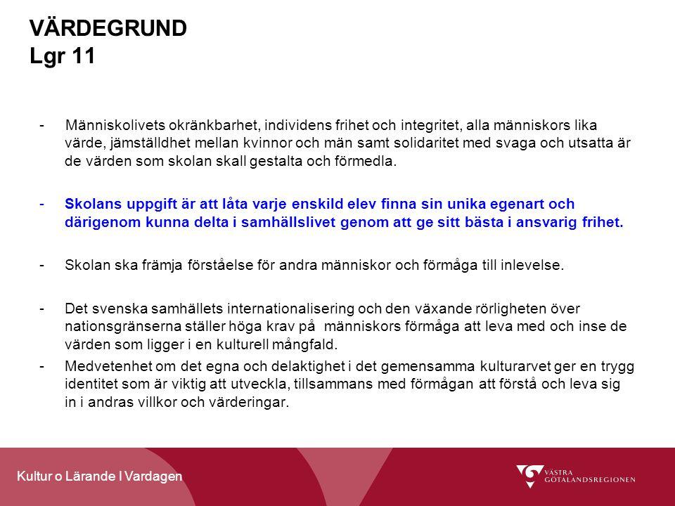 VÄRDEGRUND Lgr 11