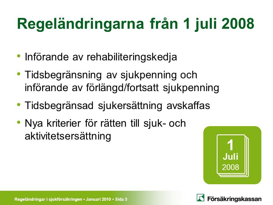 Regeländringarna från 1 juli 2008