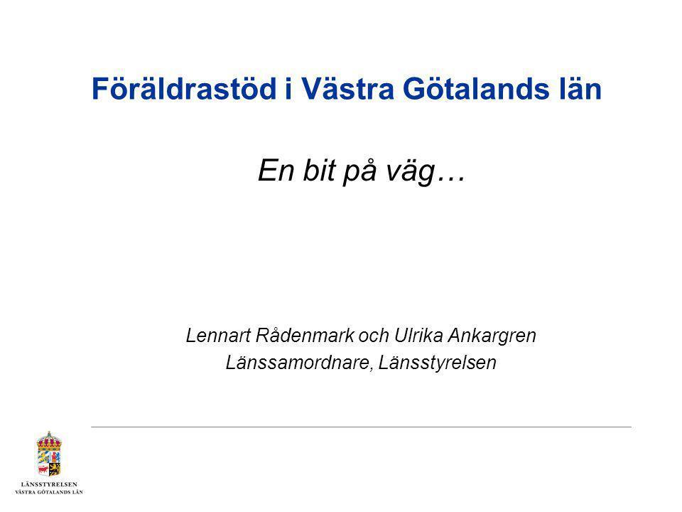 Föräldrastöd i Västra Götalands län
