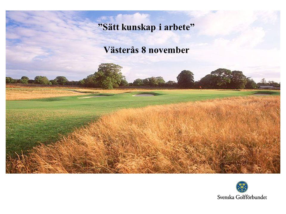 Sätt kunskap i arbete Västerås 8 november