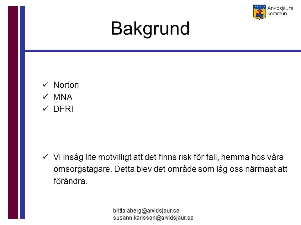 Bakgrund Norton MNA DFRI