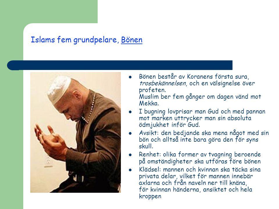 Islams fem grundpelare, Bönen