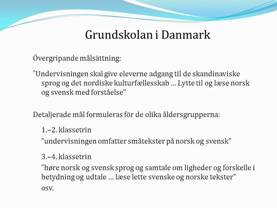 Grundskolan i Danmark