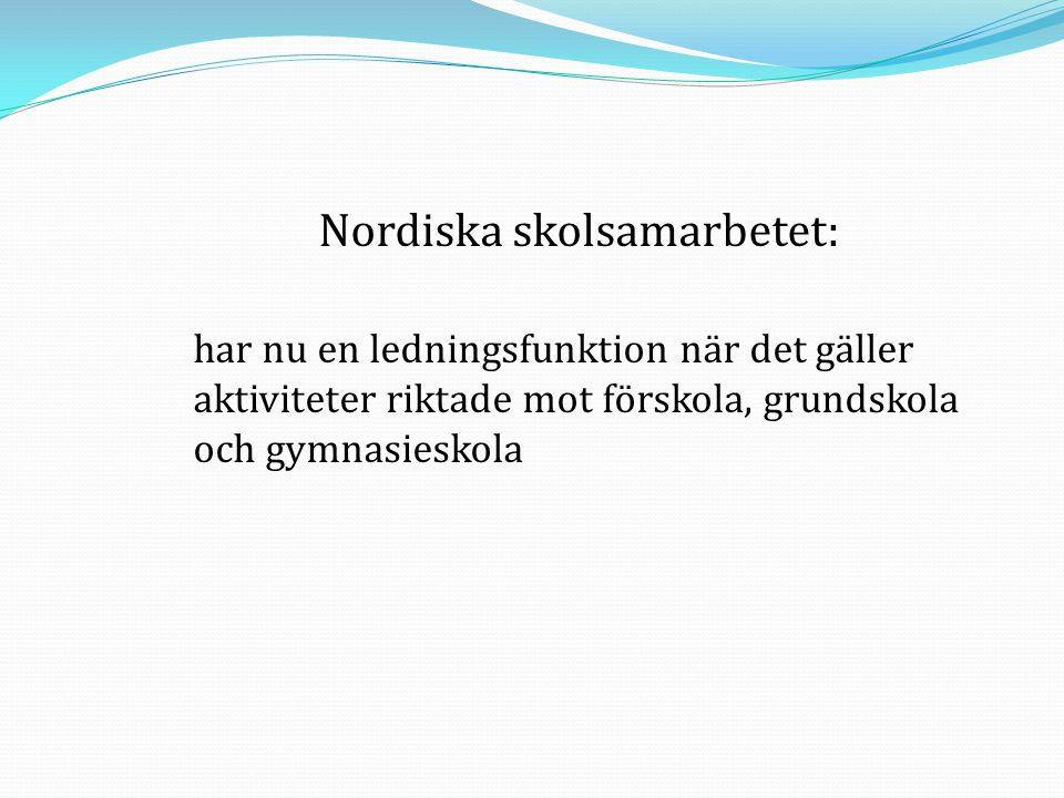 Nordiska skolsamarbetet: