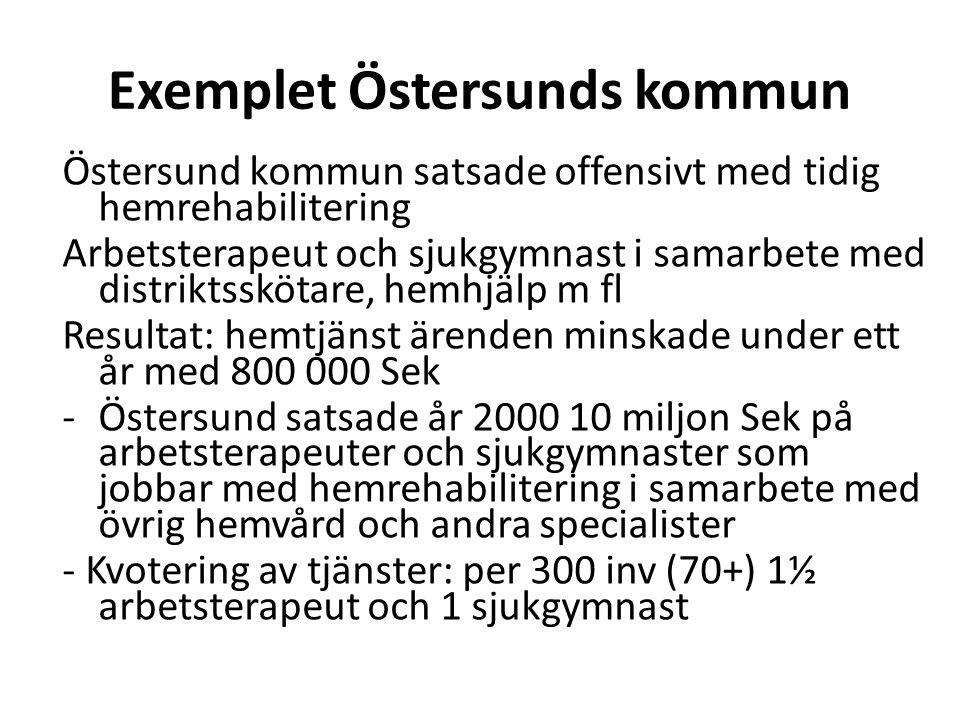 Exemplet Östersunds kommun