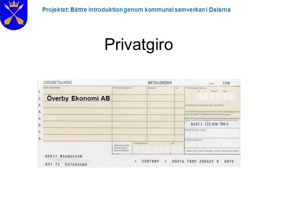 Privatgiro Överby Ekonomi AB