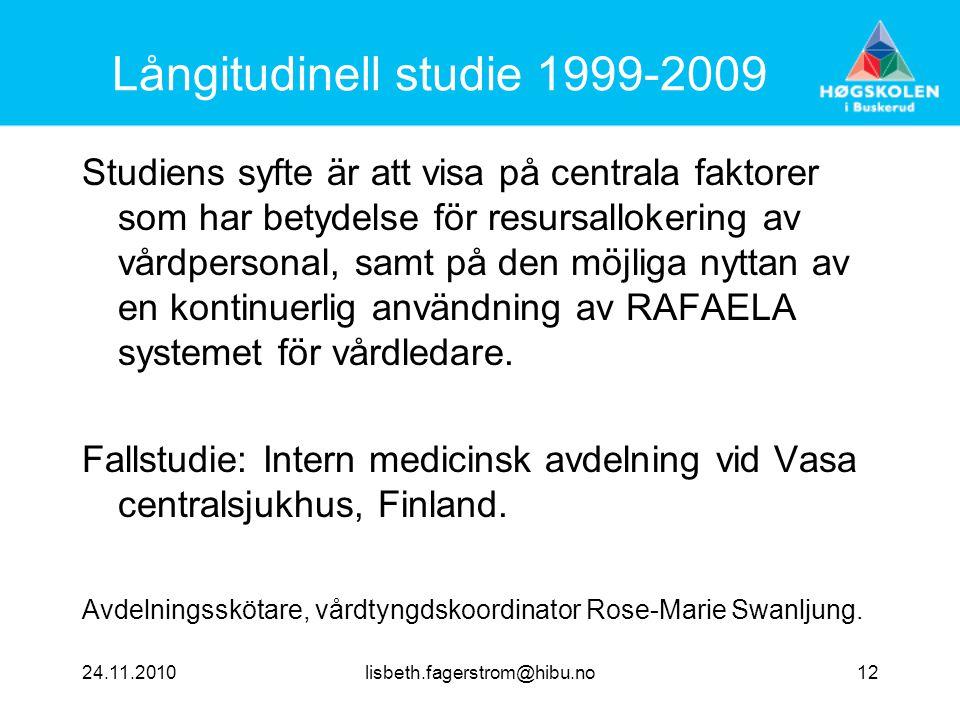 Långitudinell studie 1999-2009
