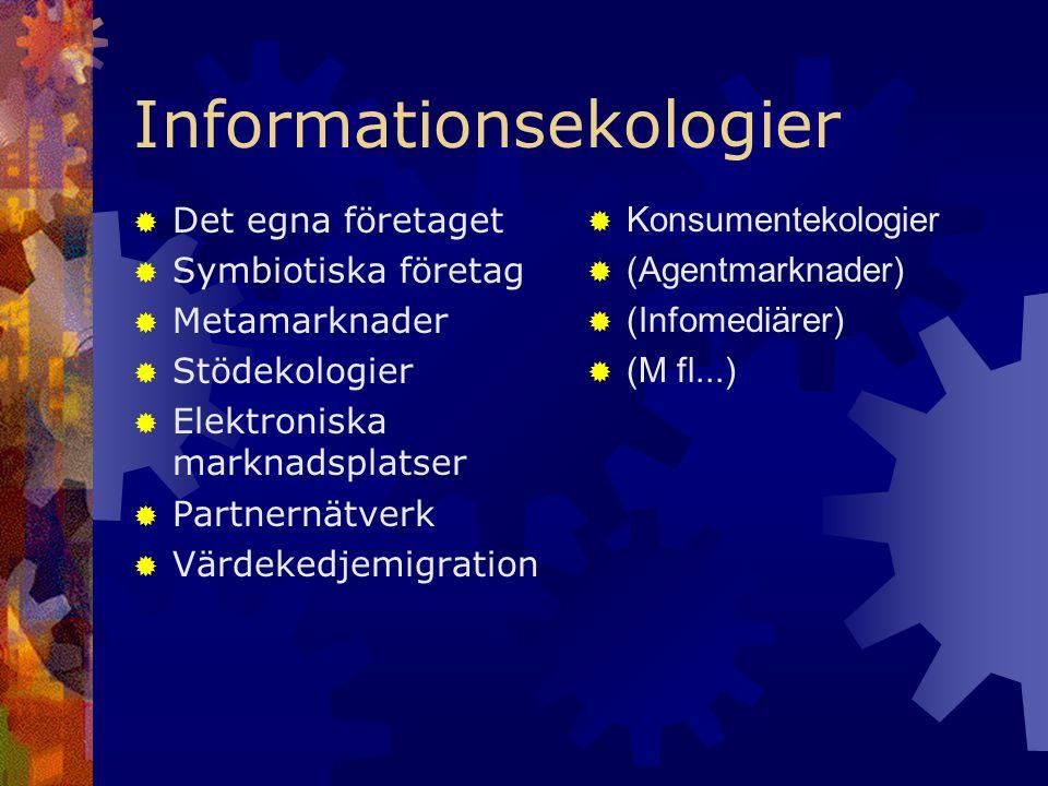 Informationsekologier