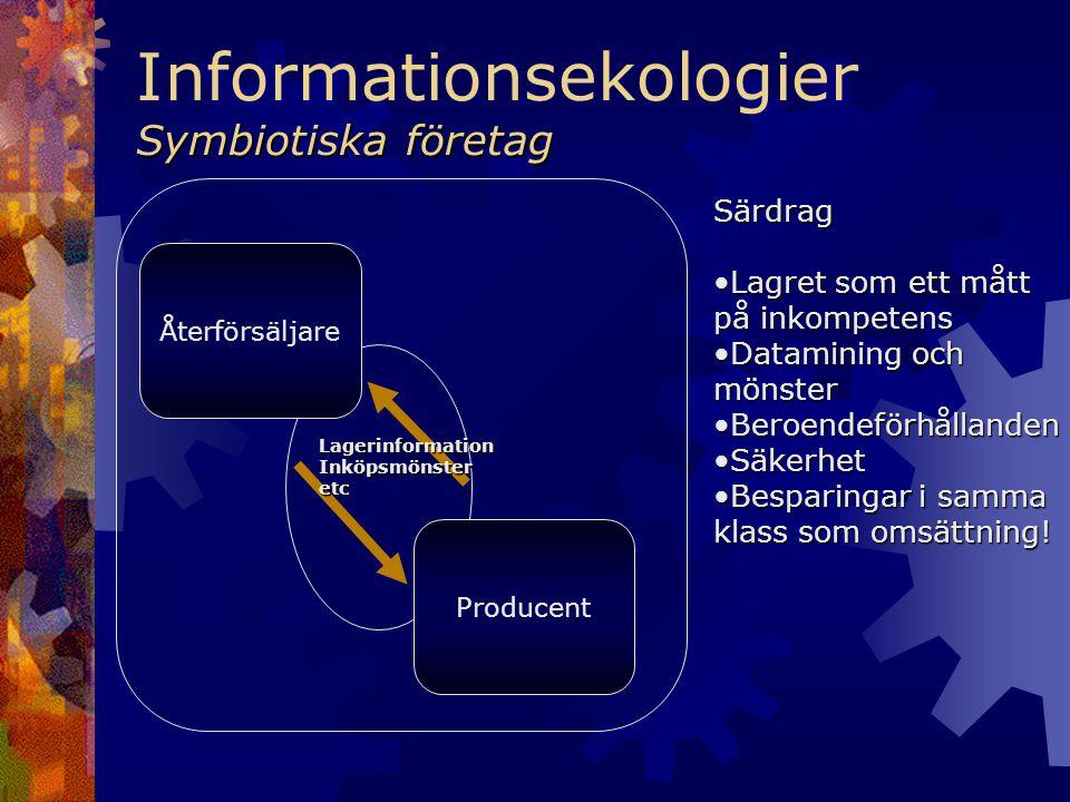 Informationsekologier Symbiotiska företag