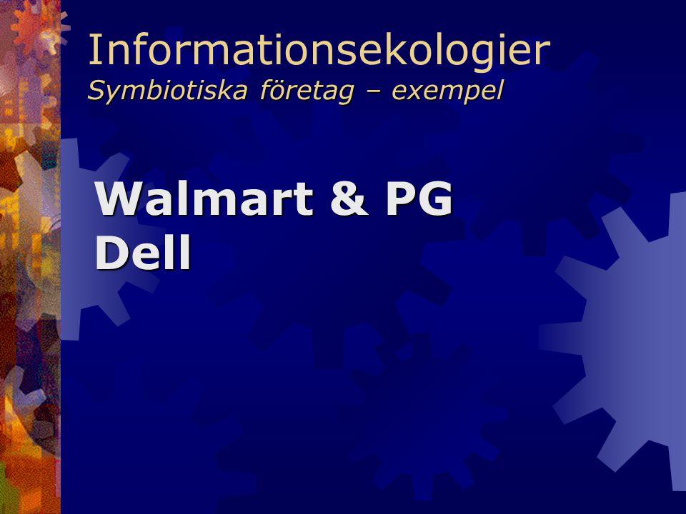 Informationsekologier Symbiotiska företag – exempel