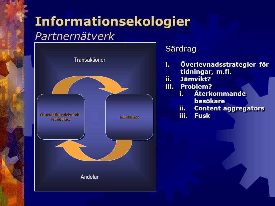 Informationsekologier Partnernätverk