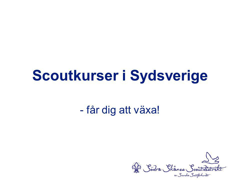 Scoutkurser i Sydsverige