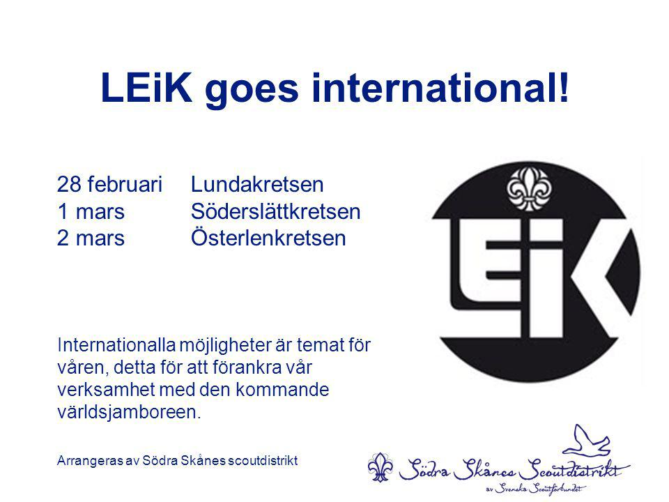 LEiK goes international!